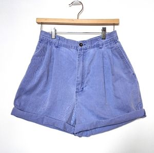 Vintage Purple High Waisted Jean Shorts